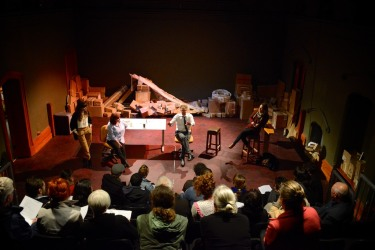 Reading & Audience feedback session - Photo by David Burrows